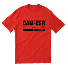 DANCER unisex short sleeve t-shirt
