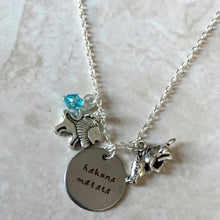 Hakuna Matata - Lion King Inspired Necklace