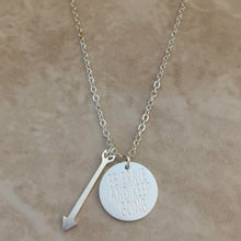 Be Brave and Keep Going Forward Necklace