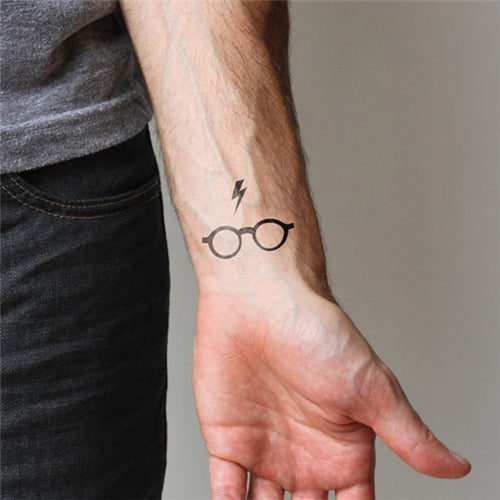 Harry Potter Glasses Temporary Tattoo