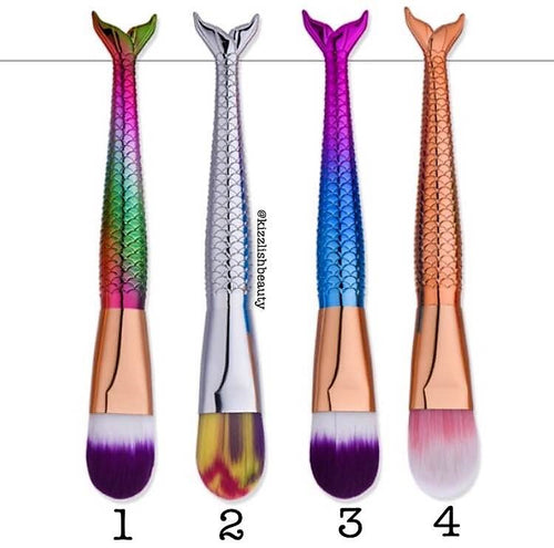 Mermaid Tail Brushes