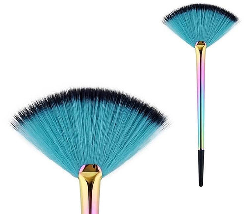 Mermaid Fan Brush