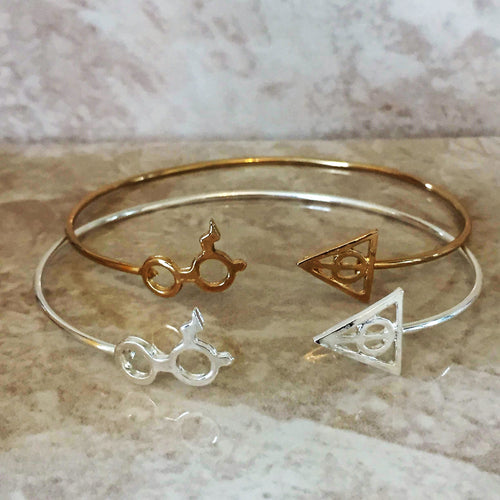 Harry Potter Scar and Glasses Bangle