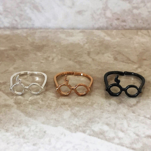 Harry Potter Inspired Scar and Glasses Ring