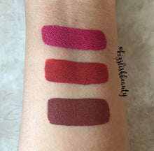 Long-lasting Waterproof Liquid Lipsticks - Matte Effect