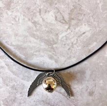 Harry Potter Inspired - Golden Snitch Choker Necklace (Handmade)