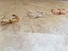 Bow Knot Adjustable Ring/Midi