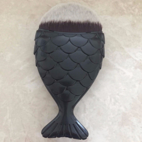 BLACK Chubby Mermaid Brush