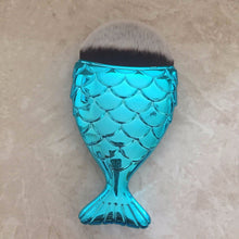 BLUE Chubby Mermaid Brush