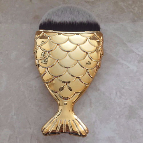 GOLD Chubby Mermaid Brush