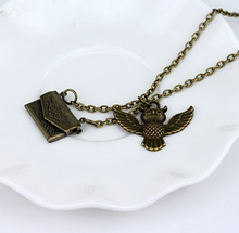 Hedwig Owl Necklace - Harry Potter Inspired