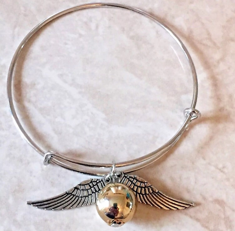 Harry Potter Golden Snitch Inspired - Bangle