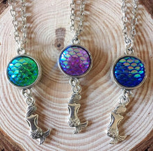 Mermaid Scales Necklace - Handmade