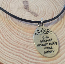 Well Behaved Women - Handmade Choker Necklace