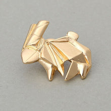 Origami Rabbit Animal Pin/Brooch