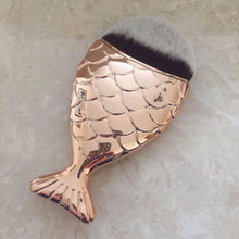 ROSE GOLD Chubby Mermaid Brush