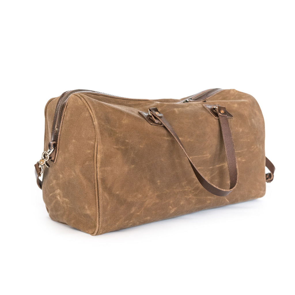NEW! Boston Weekender in Brush Brown