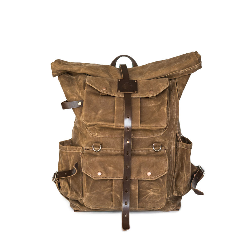 Cadmus Backpack in Brush Brown