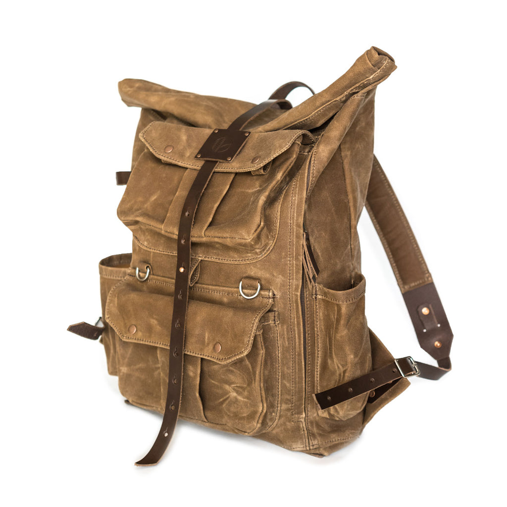 NEW! Cadmus Backpack in Brush Brown