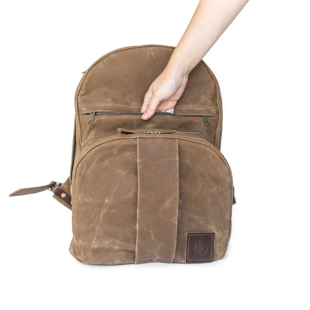 NEW! Cypress Backpack in Brush Brown