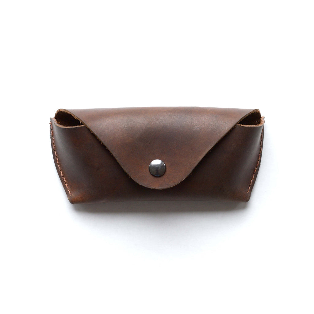The Glasses Case in Dark Brown