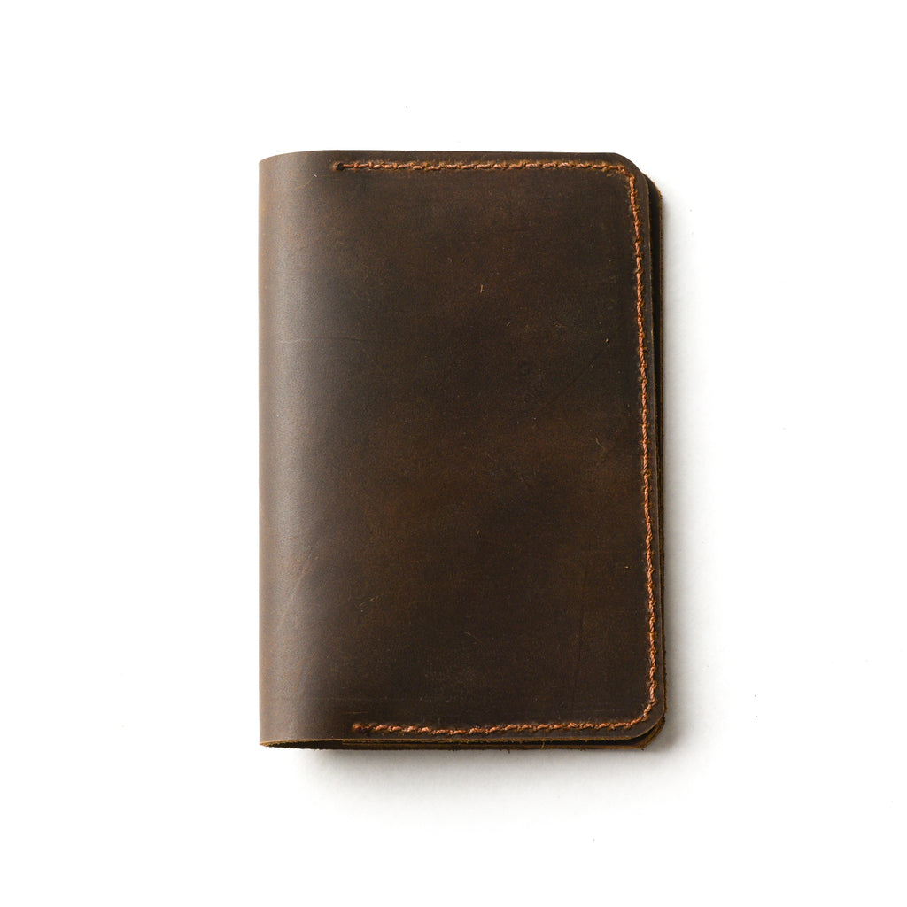 The Passport Cover in Brown