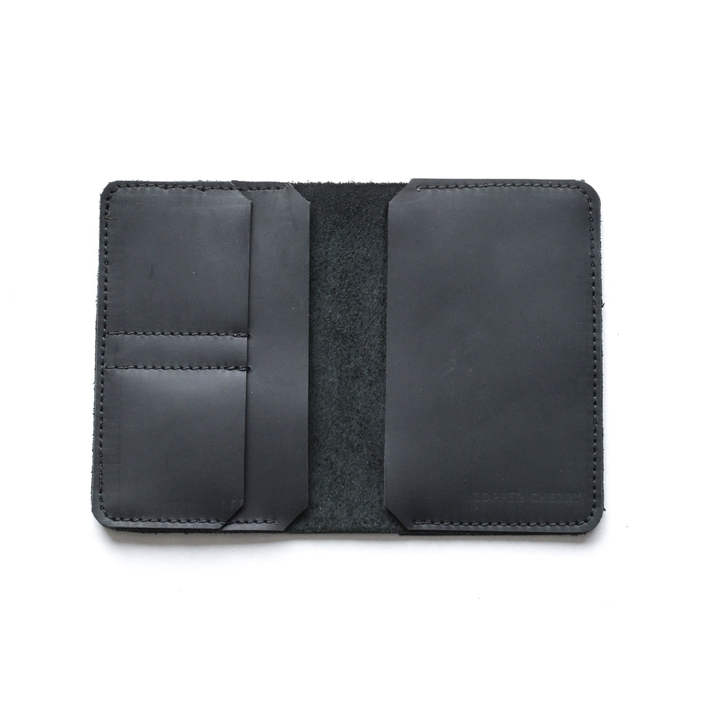 The Passport Cover in Black