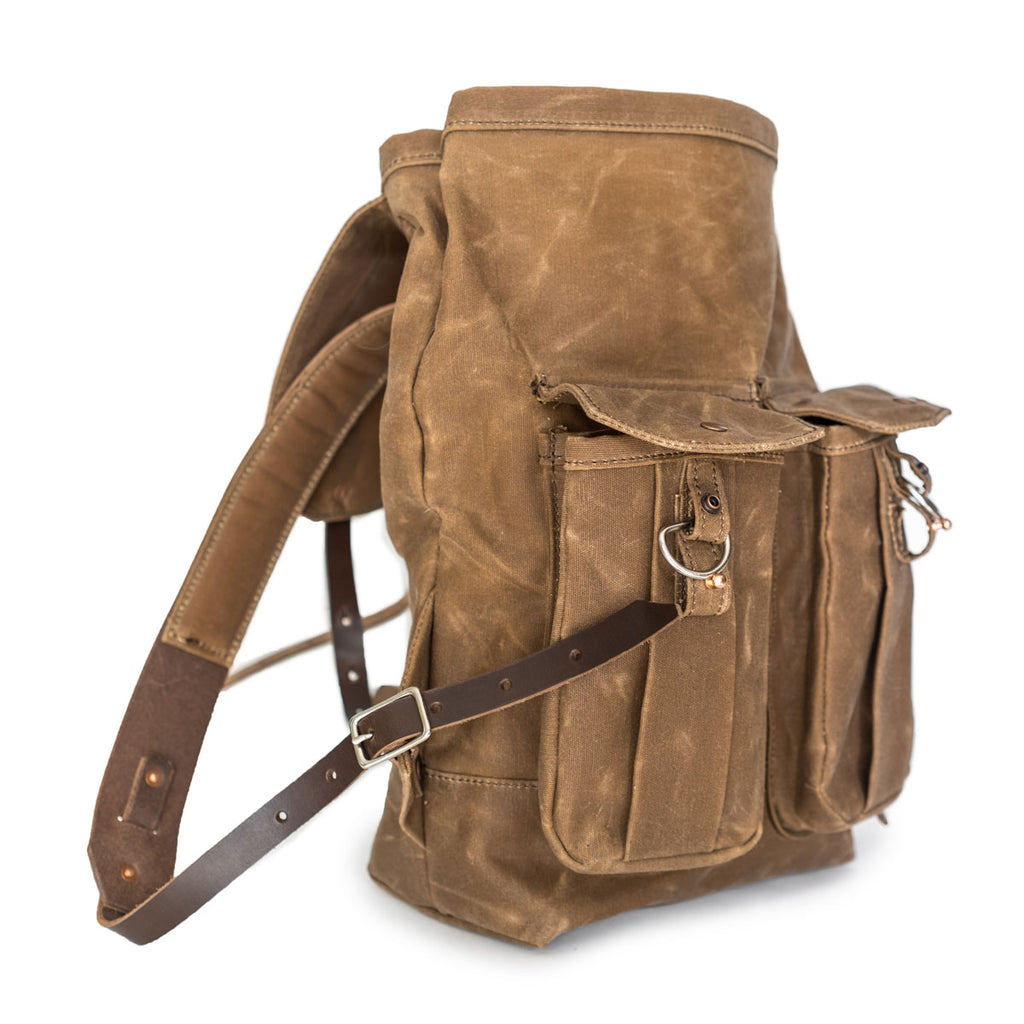 NEW! Seymour Backpack in Brush Brown