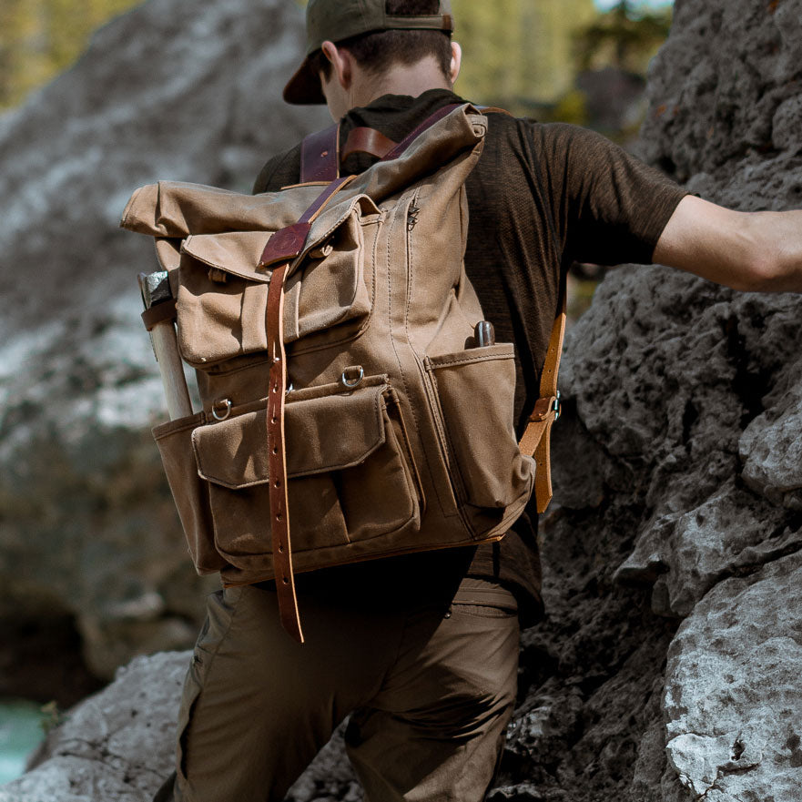 Limited Stay Golden Cadmus Backpack