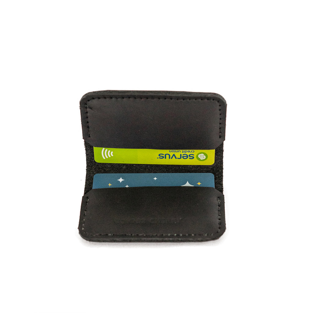 Card Book Wallet in Black