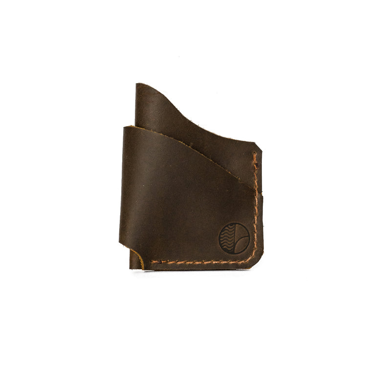 Cash & Card Holder in Brown