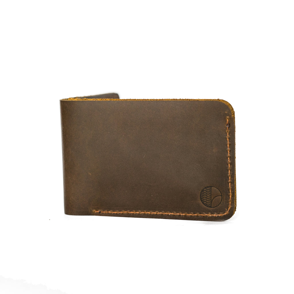 Bi-Fold Wallet in Brown