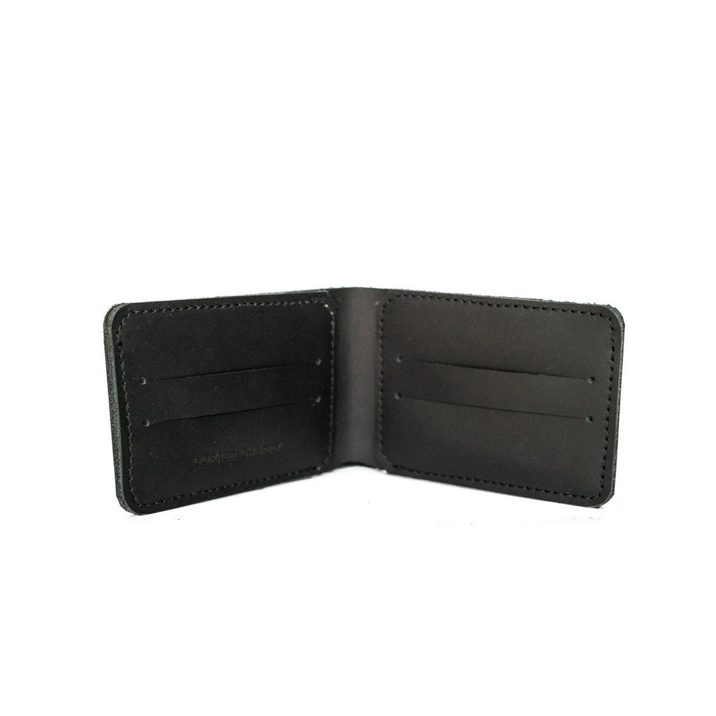 Bi-Fold Wallet in Black