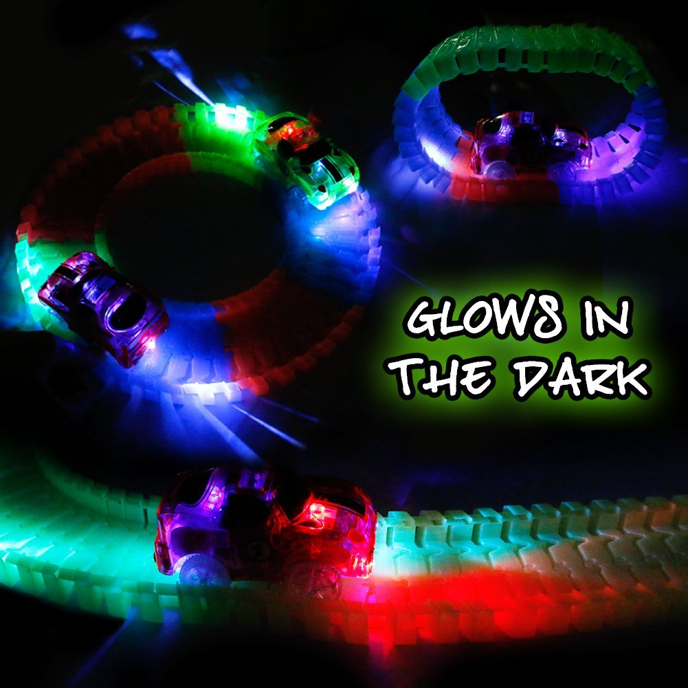 Glow race track - LADSPAD.UK