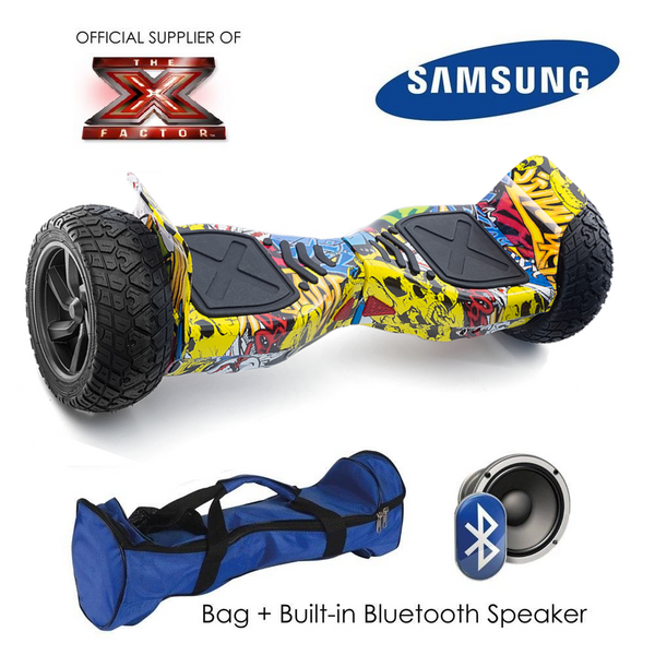 New 2017 Graffiti Hummer Bluetooth Segway Hoverboard 8.5 Inch