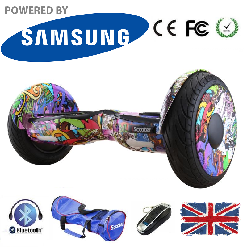 10 Inch Bluetooth LED Segway Hoverboard - LADSPAD.UK