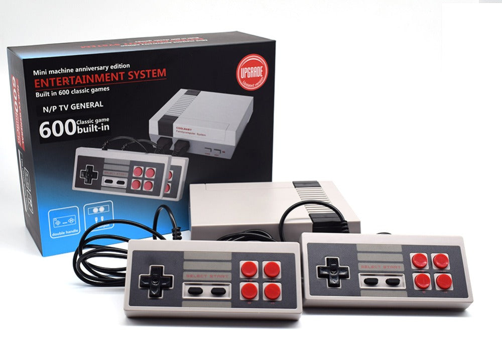 Retro Video Game Console 600 Built In Games Ladspad Uk