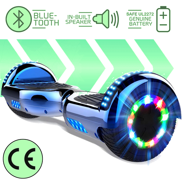 2019 APP Enabled Bluetooth LED Segway Hoverboard