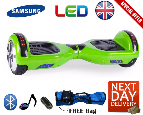 Bluetooth LED Segway Hoverboard - LADSPAD.UK