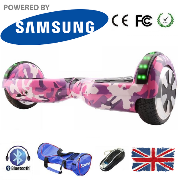 6.5 Inch Bluetooth LED Segway Hoverboard - LADSPAD.UK