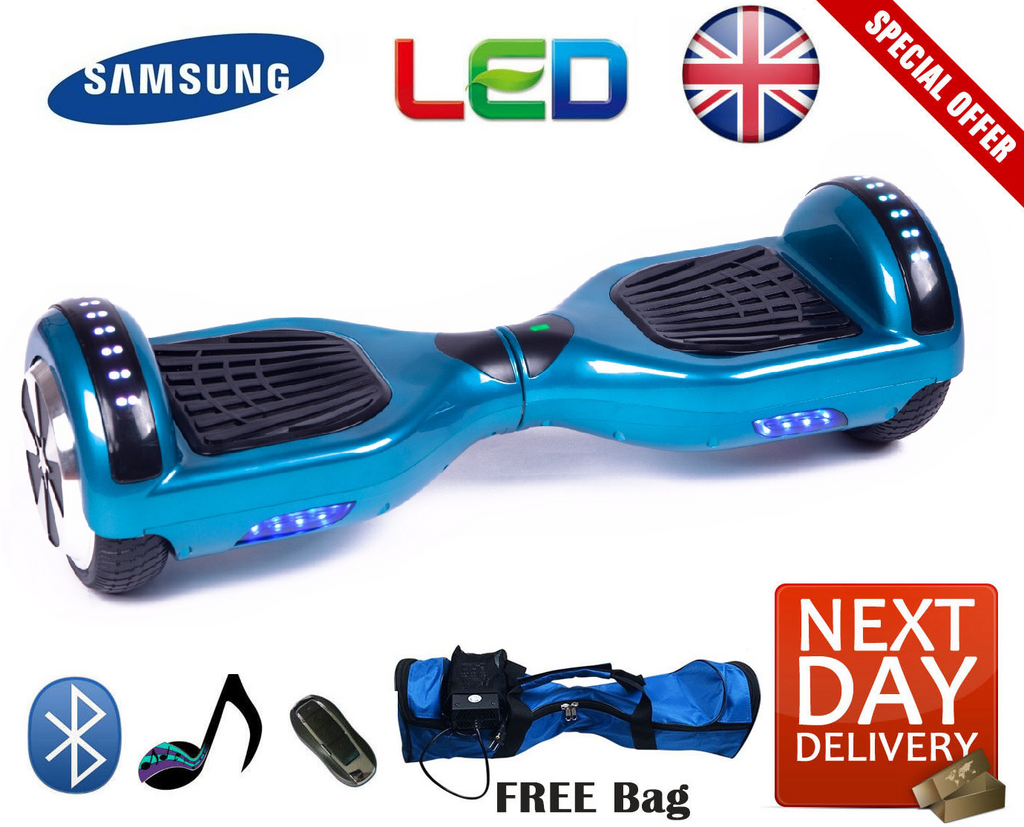 2019 Bluetooth LED Segway Hoverboard (Christmas) - LADSPAD.UK