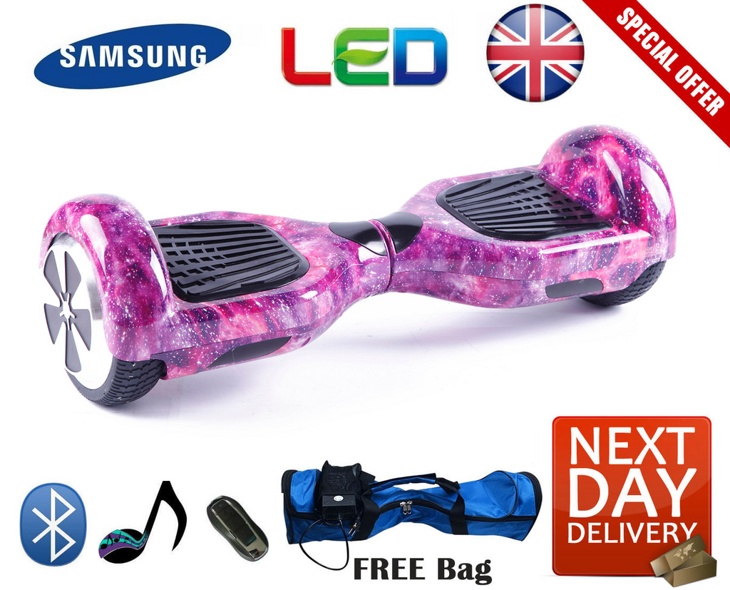 2020 APP Enabled Bluetooth LED Segway Hoverboard - LADSPAD.UK