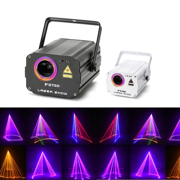 3D laser light RGB colorful DMX 512 Scanner Projector Party Xmas DJ Disco Show Lights club music equipment Beam Moving Ray Stage - LADSPAD.COM