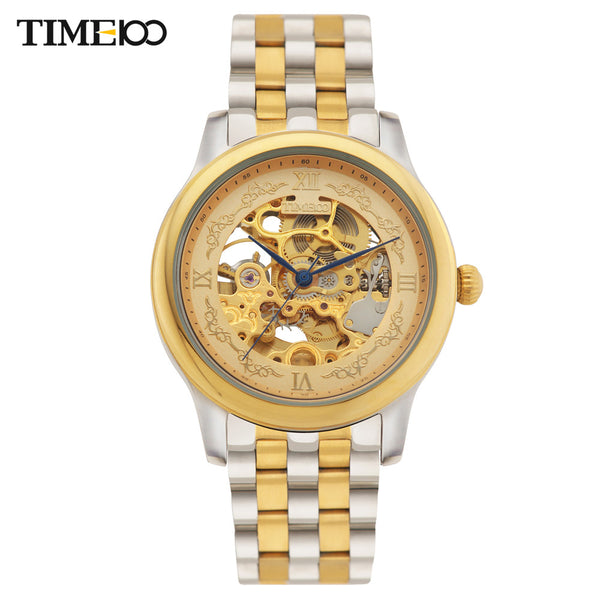TIME100 Men's Mechanical Self-wind Watch - LADSPAD.COM