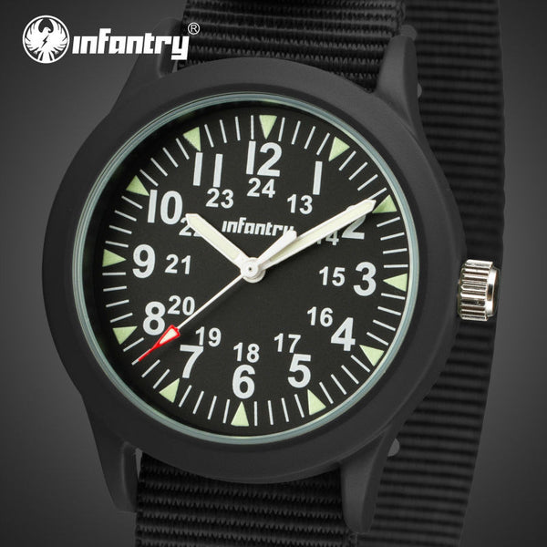 INFANTRY Men Quartz Ultra Thin Watch - LADSPAD.COM