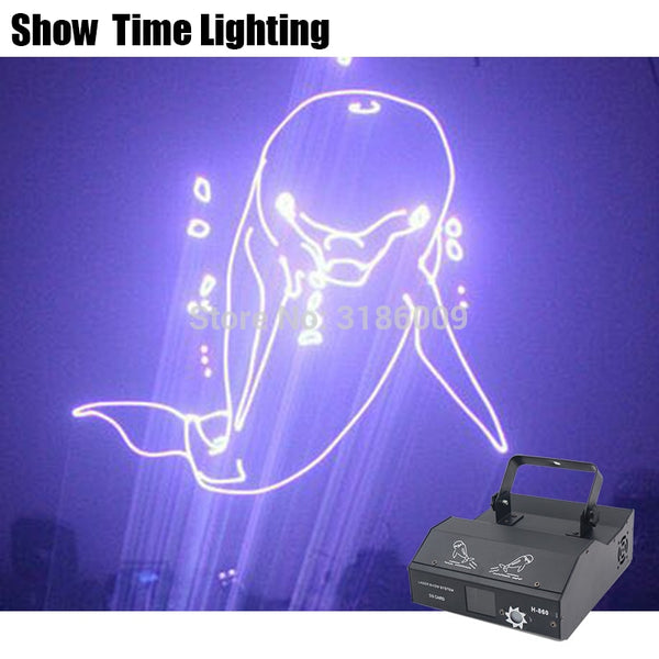 3D RGB Dj Laser Cartoon Image Lines Beam Full Stars DJ Dance Bar Coffee Xmas Home Party Disco Effect Lighting Light System Show - LADSPAD.COM