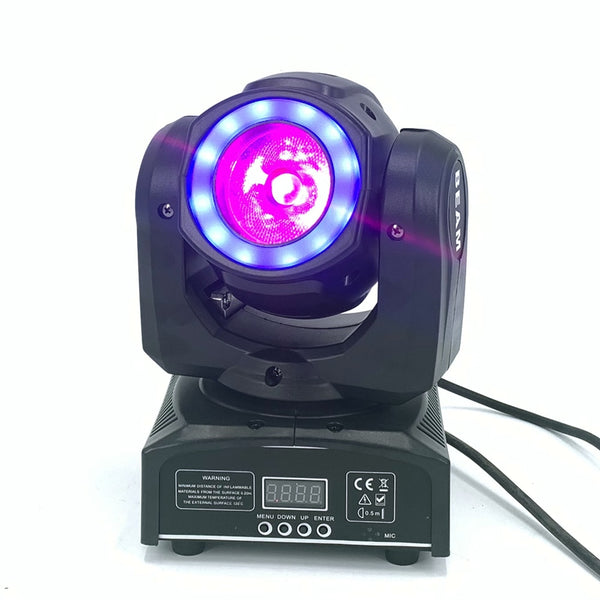 DJ lighting mini moving head led 60W beam stage led light with 12LED SMD5050 RGB super bright LED Strobe Spot Light dmx control - LADSPAD.COM