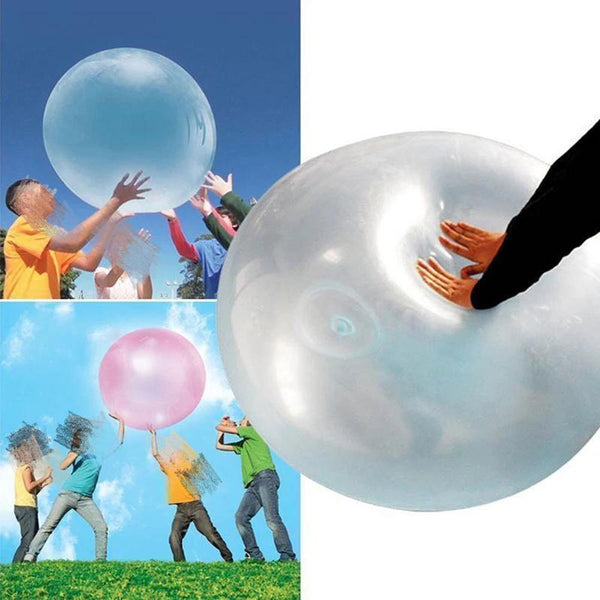 Funny Bubble Balloon Inflatable Water Ball Kids Children Indoor Outdoor Play Toy Gift Tear-resistant Balloon Toys - LADSPAD.COM