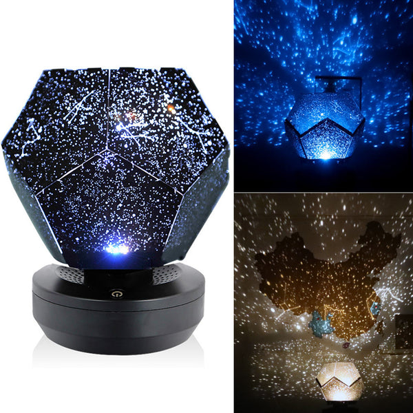 60000 Stars Night Light Christmas LED Lamp Starry Sky Projector Light DIY Colorful Flashing Star Kids Lamp Baby Bedroom Gift - LADSPAD.COM