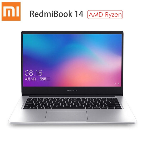 Xiaomi RedmiBook 14 Laptop AMD Ryzen 5 3500U / Ryzen 7 3700U Windows 10 Home 8GB/16GB RAM 256GB/512GB ROM Ultra Thin Notebook - LADSPAD.COM